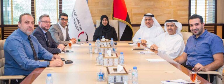 الآيزو في السلامة المرورية على الطرق لمواصلات الإمارات
