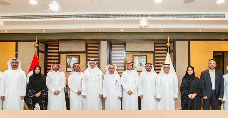 Emirates Transport Receives a delegation from Saudi Arabia's Tatweer