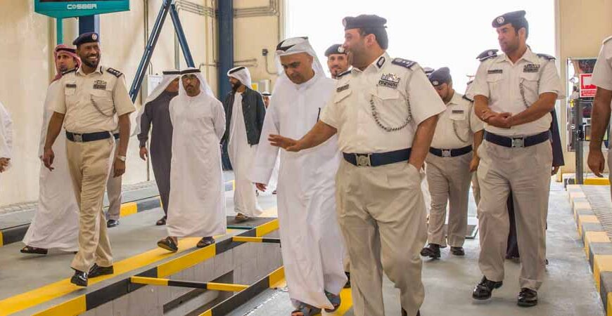 Emirates Transport and Abu Dhabi Police inaugurate new customer services auto centre in Zayed City