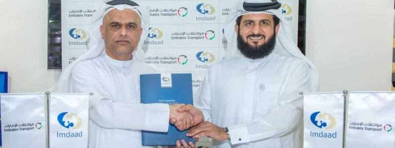 Emirates Transport and Imdaad renew auto services contract for another 3 years