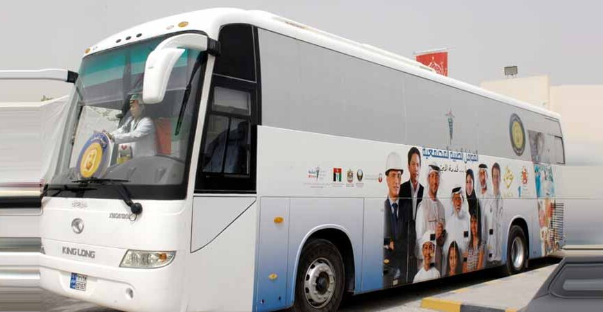 Emirates Transport buses carried 1,800 free community and charity adverts in 2017