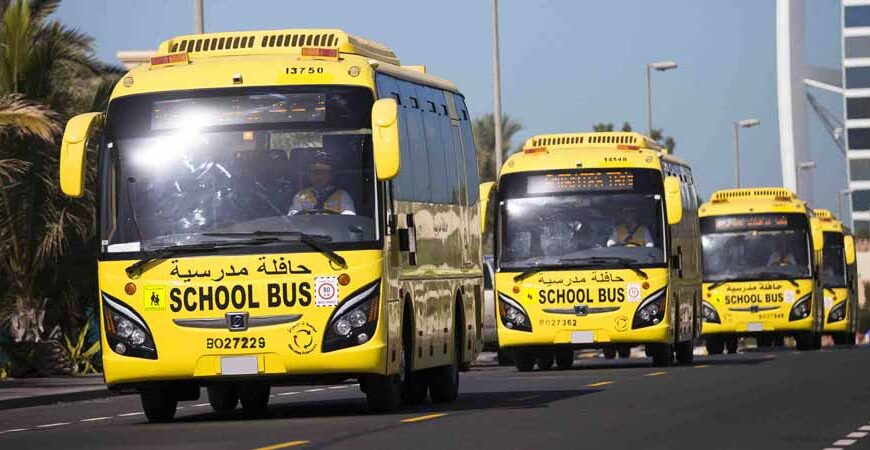 Emirates Transport issues announcement on movement of school buses during bad weather