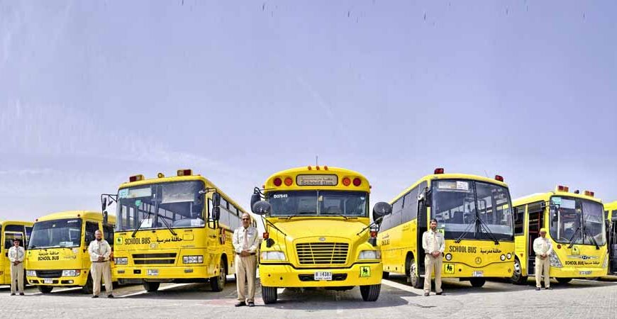Emirates Transport issues reminders to its drivers to stop buses during foggy conditions