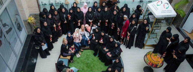 Emirates Transport marks International Women's Day 2018
