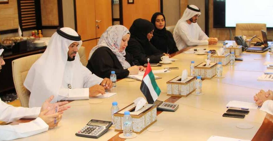 Emirates Transport receives a delegation from the Ministry of Emiratization and Human Resources