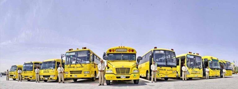 مواصلات الإمارات تبرم 14 عقداً مع مدارس خاصة في المنطقة الشمالية