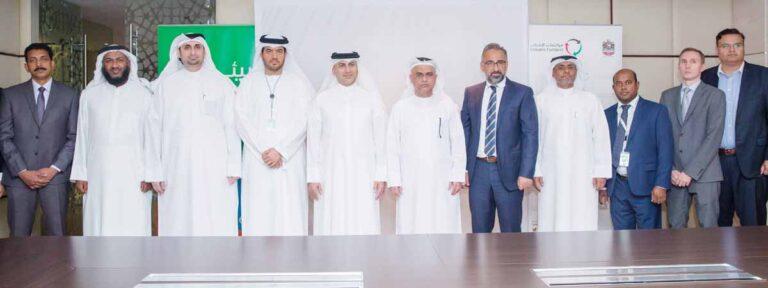"""مواصلات الإمارات تتعاقد لصيانة مركبات وآليات تابعة لشركة """"بيئة"""" بالشارقة"""