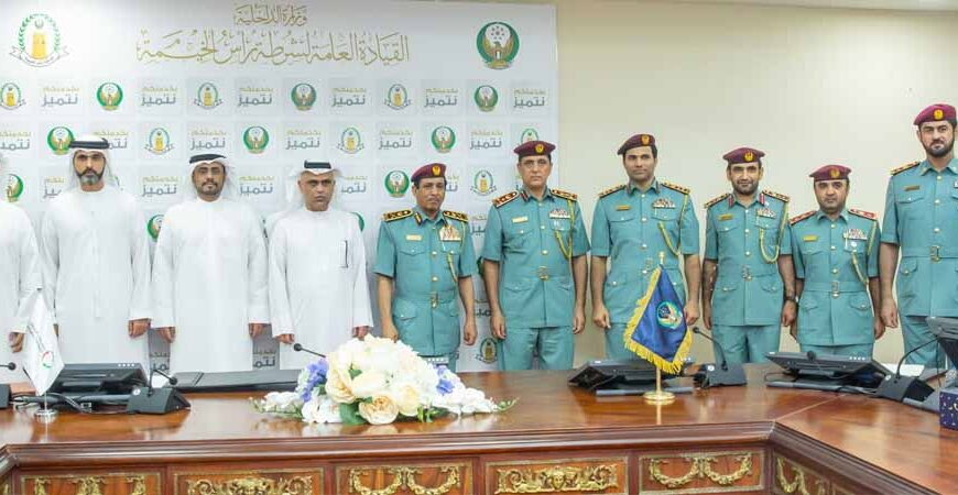 MoU signed between Ras Al Khaimah Police and Emirates Transport