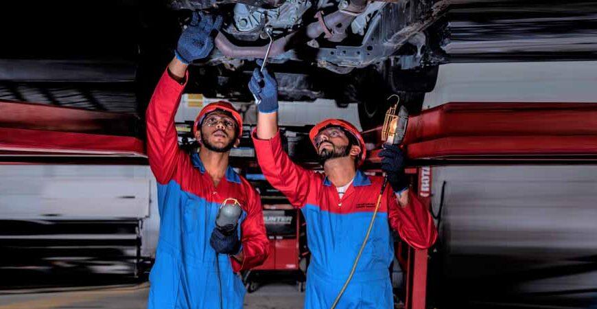 مواصلات الإمارات: صيانة نحو 6800 مركبة برأس الخيمة