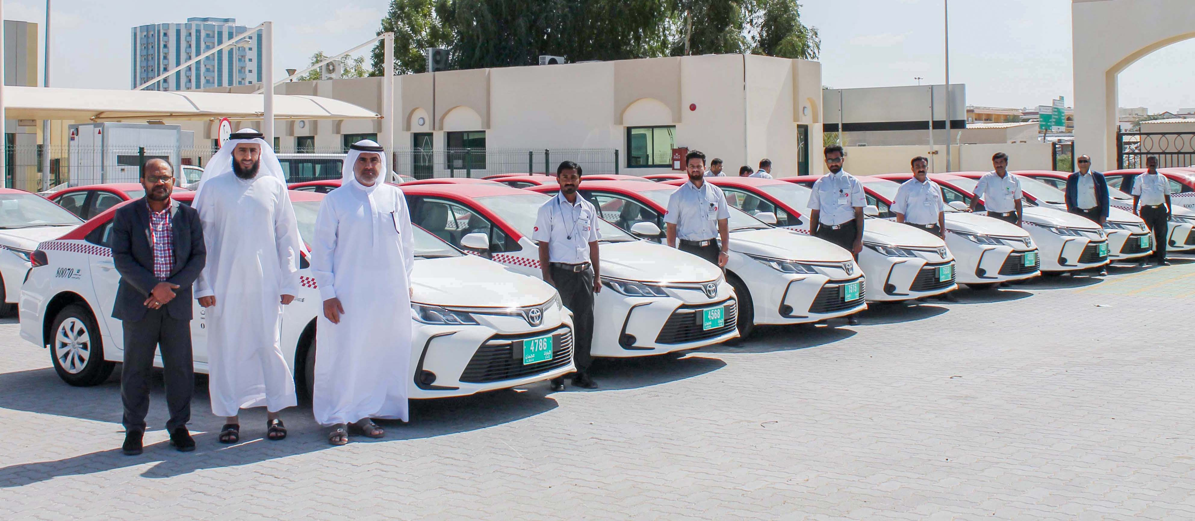 Emirates Transport Taxi registers more than half a million trips in Ajman during 2020