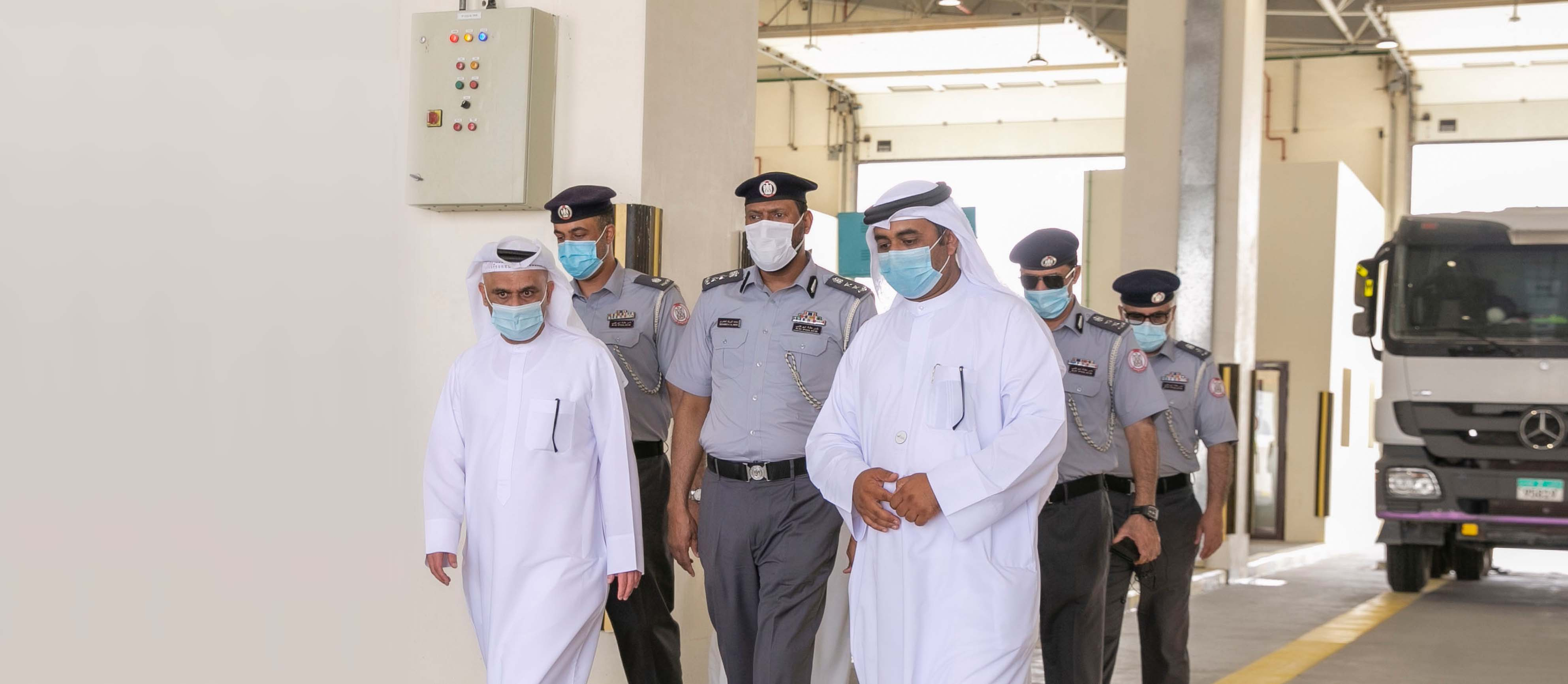 Emirates Transport inaugurates an auto inspection centre for heavy vehicles in Al Faya, Abu Dhabi